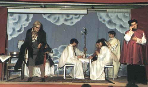 La prima rappresentazione dell Compagnia Impara l'Arte